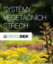 Systémy vegetačních střech GREENDEK