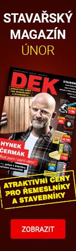 Únorový stavařský magazín