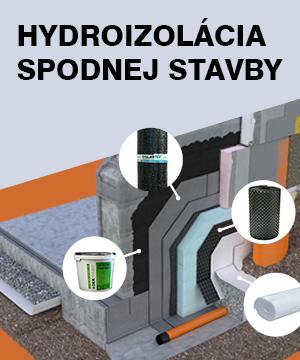 Marcová ponuka - hydroizolácia spodnej stavby