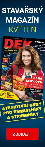 Květnový stavařský magazín