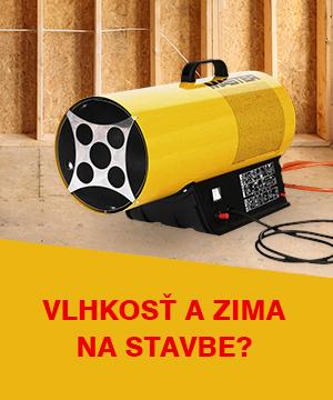 Elektrické ohrievače a odvlhčovače z požičovne DEK