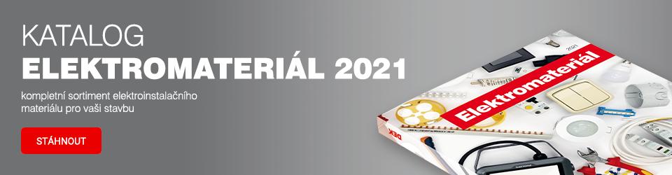 Katalog elektromateriál 2021